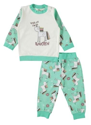 Civil Baby Pijama Takımı Yeşil